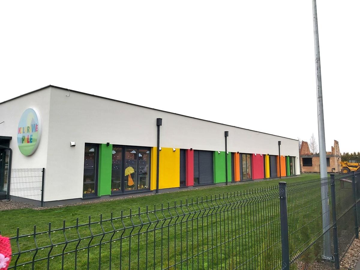 okna skandynawskie, okna do przedszkola