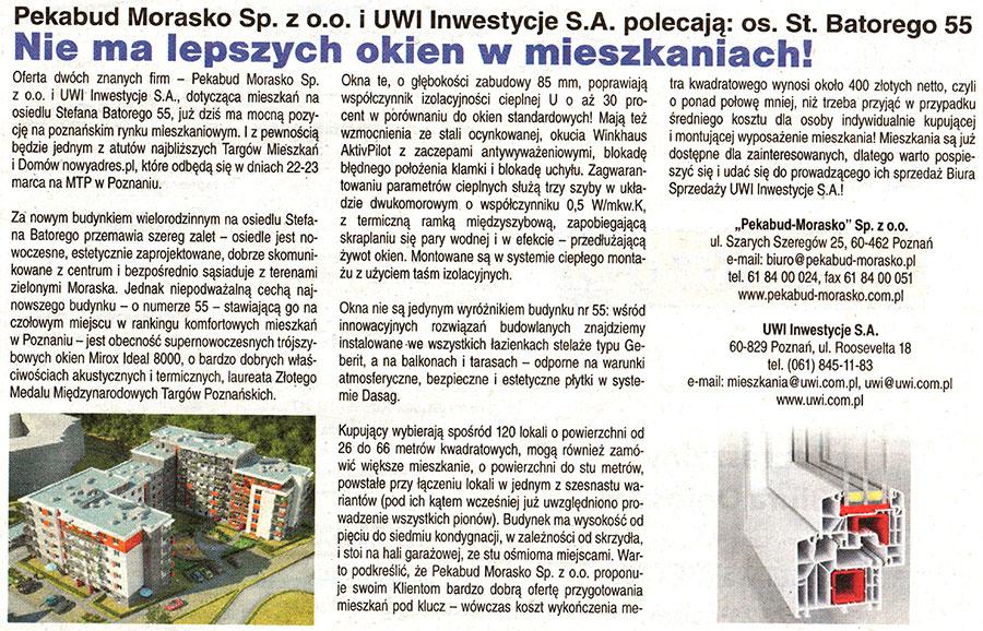 Mirox Ideal 8000 - Nie ma lepszych okien w mieszkaniach