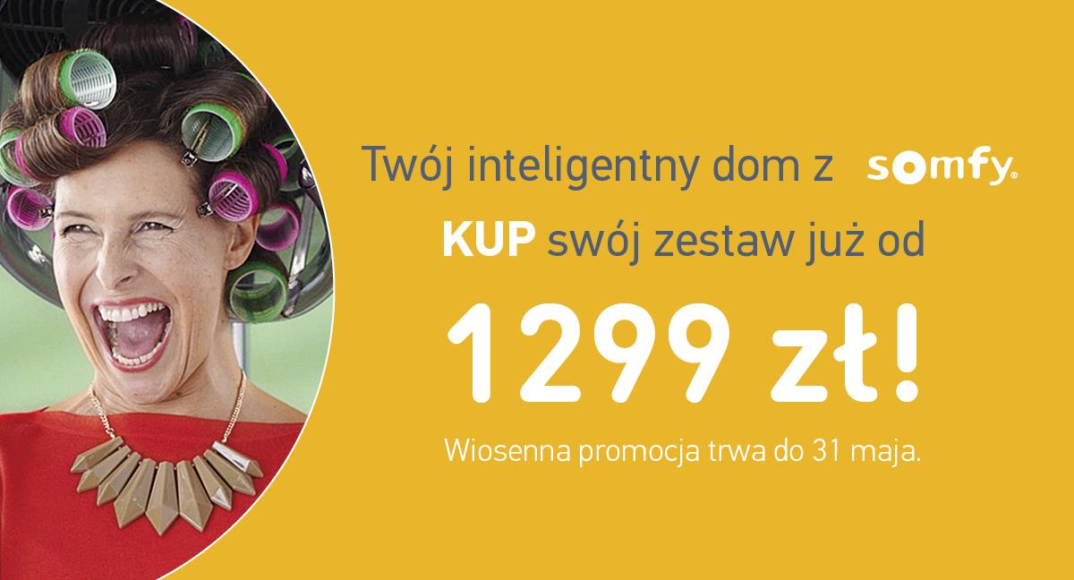 Twój inteligentny dom już od 1299 zł