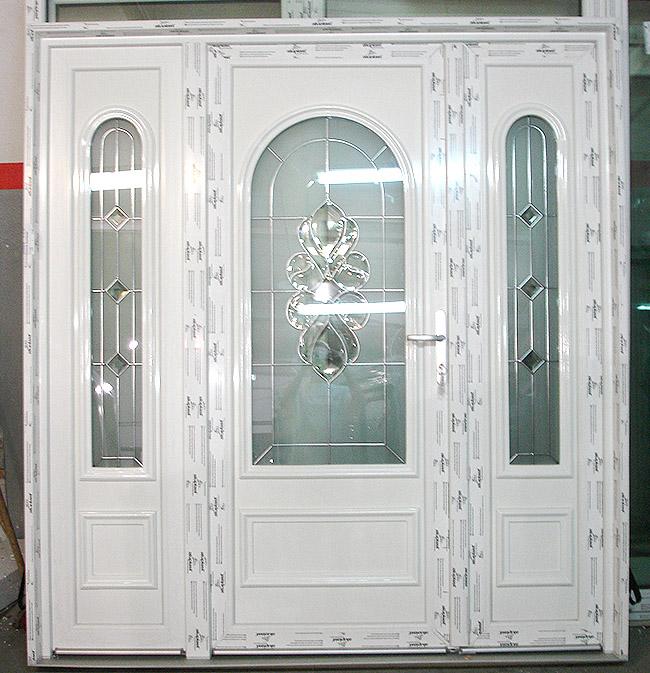 Drzwi wejściowe PVC otwierane na zewnątrz - producent
