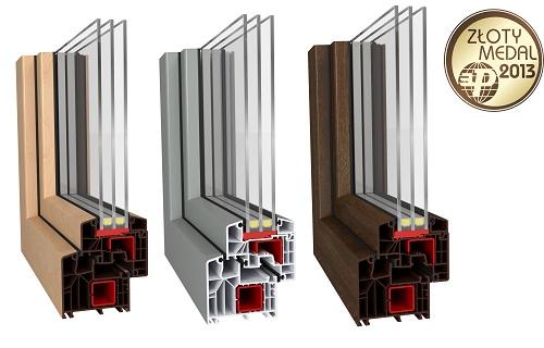 Aluplast sięgnął po złoto - Złoty Medal 2013 MTP dla energooszczędnych systemów ideal 8000.