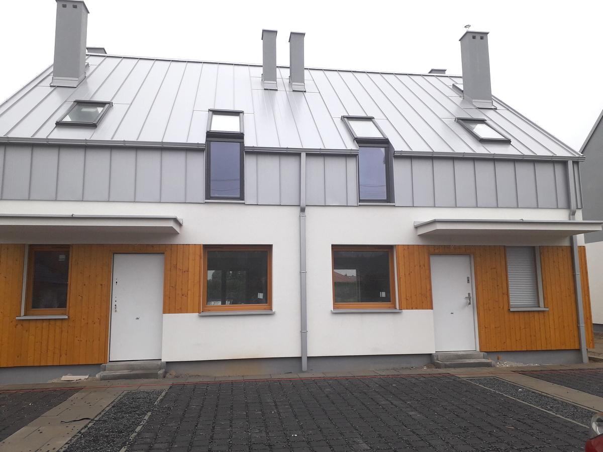 Okna MIROX - domki w Borówcu