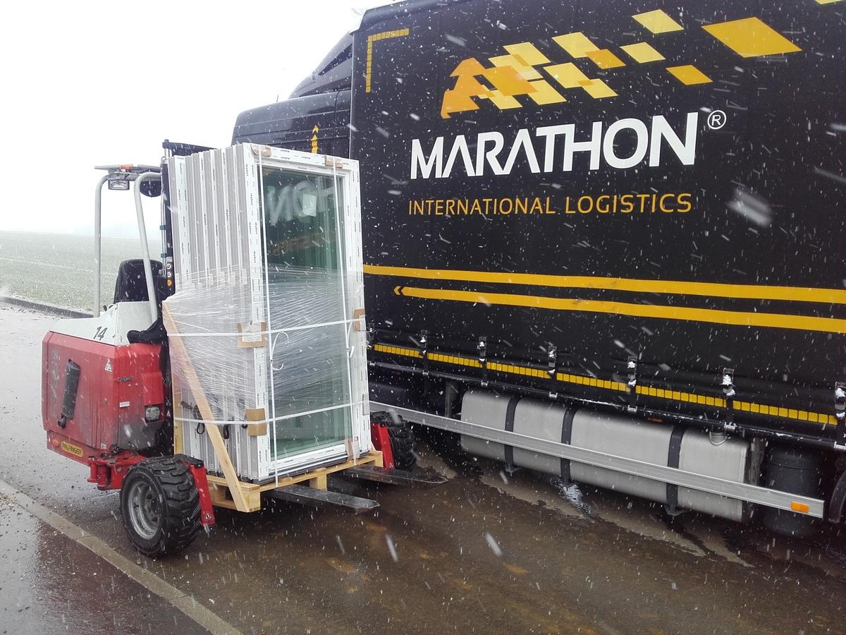 transport okien, transport drzwi, okna z dostawą