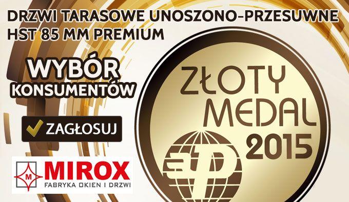 Złoty Medal MTP na TARGACH BUDMA