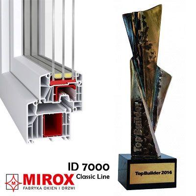 Profil Ideal 7000 nagrodzony statuetką TopBuilder 2014
