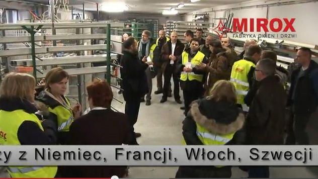 Wizyta dziennikarzy z Niemiec, Francji, Włoch, Szwecji i Czech