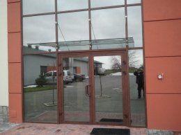 Fasada aluminiowa drewnopodobna - MIROX Poznań