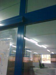 Przesuwki ręczne aluminiowe - drzwi aluminiowe przesuwne
