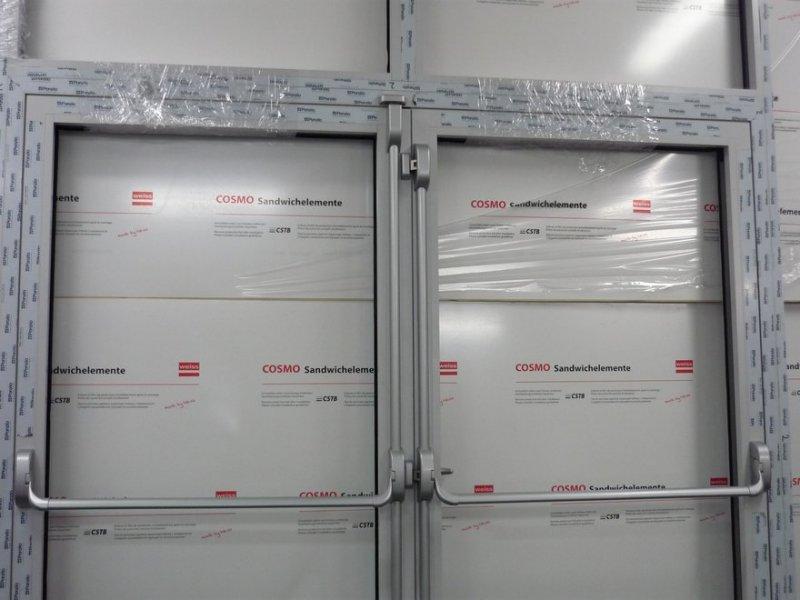 Unikalne Drzwi aluminiowe - antypaniczne | Mirox Okna Drzwi PCV Poznań EU47