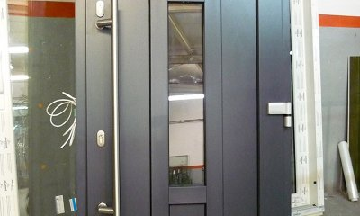 Drzwi wejściowe z elektroryglem