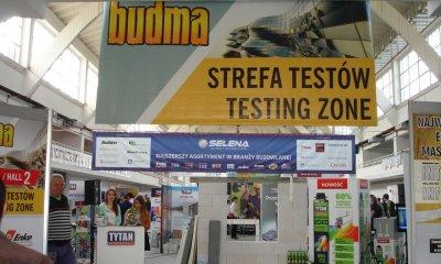Okna MIROXu w strefie Testów na Targach BUDMA 2014