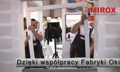 Trójwarstwowy montaż stolarki otworowej na Targach BUDMA 2013 w Poznaniu