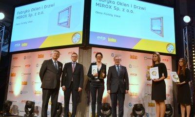 BUDMA 2019 - wręczenie Złotego Medalu