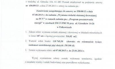 MIROX opinia - Urząd Gminy w Polkowicach