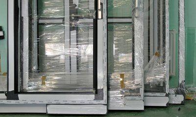 MIROX drzwi aluminiowe z niskim progiem