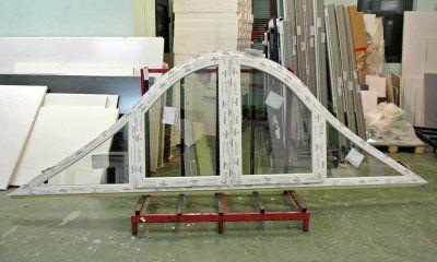 ŁUK - to jeden z najbardziej efektownych kształtów okien