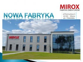 MIROX Nowa hala - nowy adres